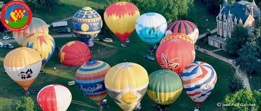 Baptême montgolfière